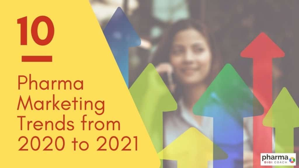 Pharma marketing trends from 2020 to 2021